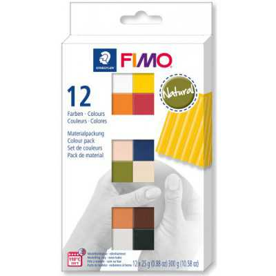COLOURS PACK 12 FIMO NATURAL
